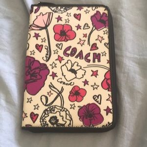 Coach tablet case never used